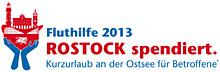 """Fluthilfe 2013 """"Rostock spendiert"""""""