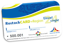 """RostockCard 2014 – Das """"neue"""" Erlebnisticket für Rostock und Region"""