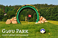 Golfen und Gofu Park