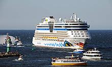 Kreuzfahrten Port Parties in Warnemünde