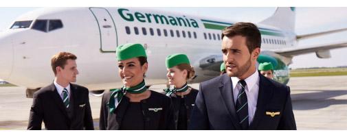Germania Neue Flugverbindung