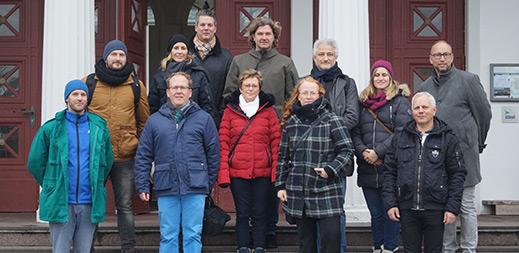 Eine Delegation aus Rostock & Warnemünde reiste zum Erfahrungsaustausch auf die Thalasso-Insel Norderney