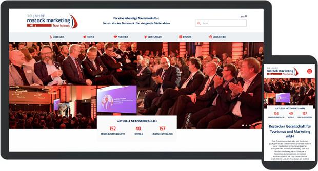 Relaunch Website Rostock Marketing